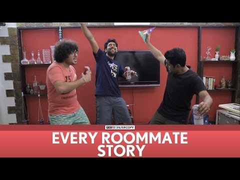 FilterCopy | Every Roommate Story | Ft. Dhruv Sehgal