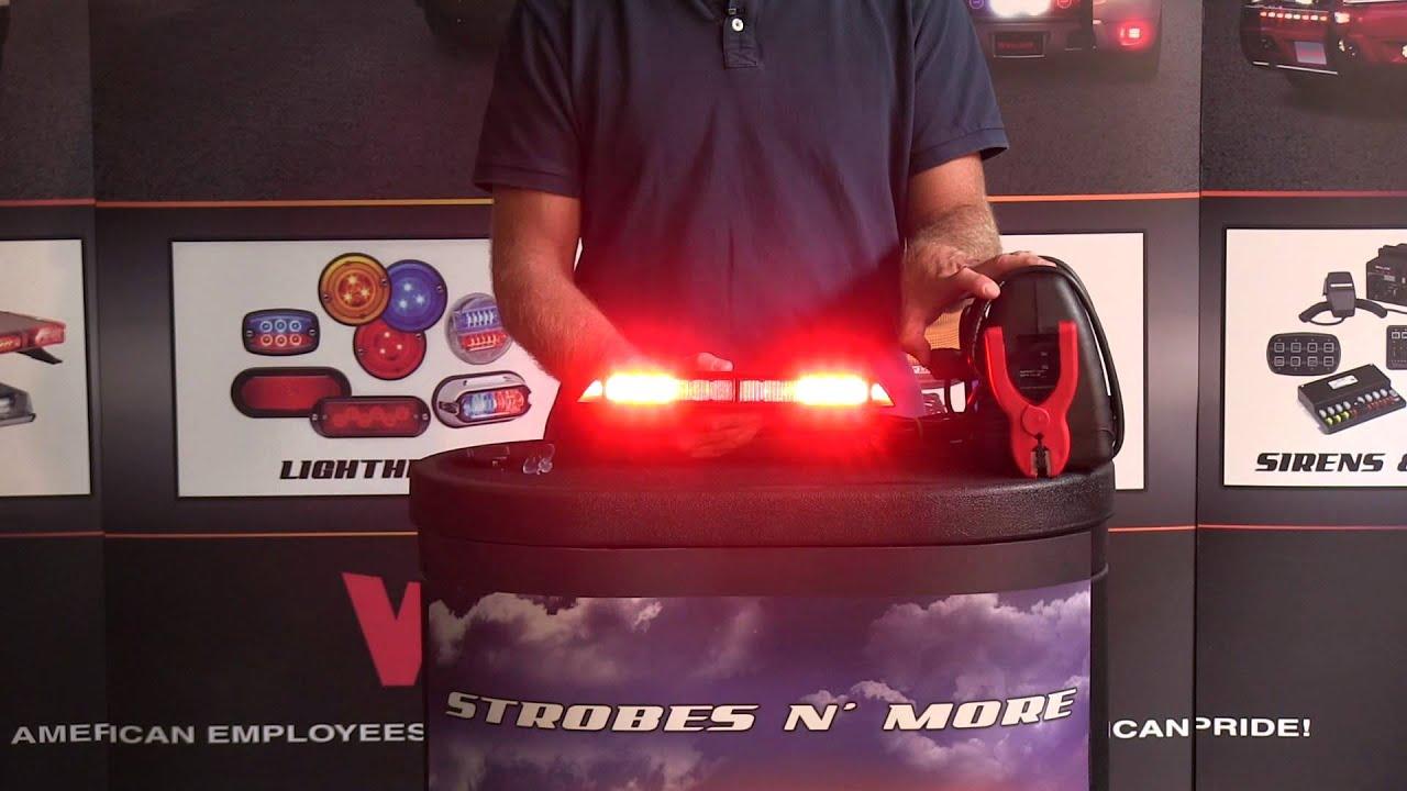 Strobes N More D12 Dual Color LED Dash Light