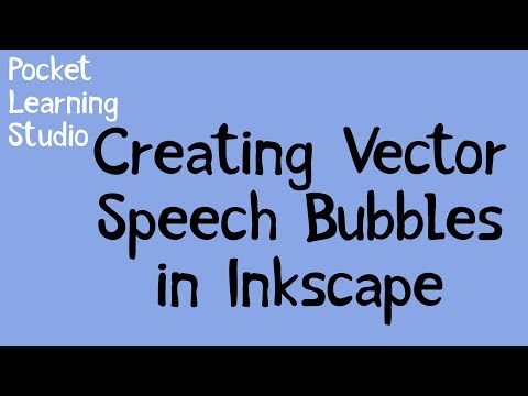 Creating Vector Speech Bubbles In Inkscape