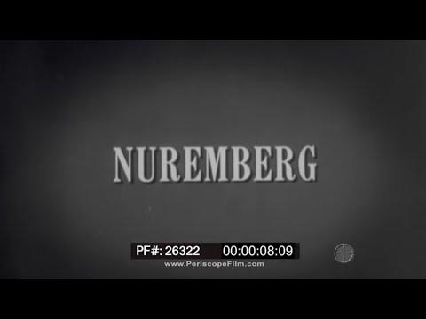 NUREMBERG TRIALSPOST WWII TRIALS OF NAZI WAR CRIMINALS 26322