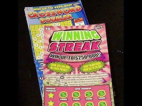 Ep. 10  CROSSWORD DOUBLER + WINNING STREAK FL Lottery Scratch-Off Tickets