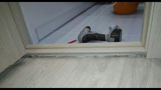 видео Как сделать порог для входной двери