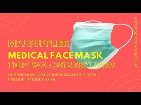 Masker 3 Play Sekali Pakai - YouTube