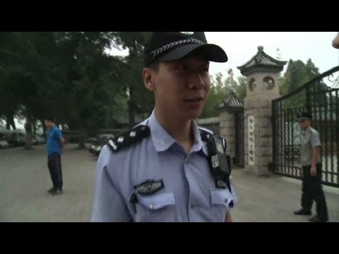 Heavy Beijing security presence on Tiananmen anniversary