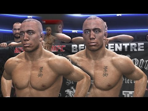 Winning The UFC Welterweight Title With Georges St Pierre!
