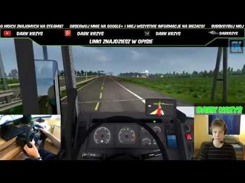 """Euro Truck Simulator 2 S3O18 """"Wjeżdżają we mnie!"""" 100% gameplay [LIVE]"""