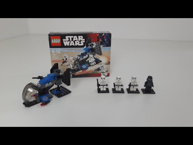 Lego Collectors Guide Episode #7 7667: Imperial Dropship Battlepack