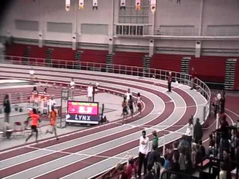 Megan Paul. Arkansas HS Indoor,2012. 400m Final