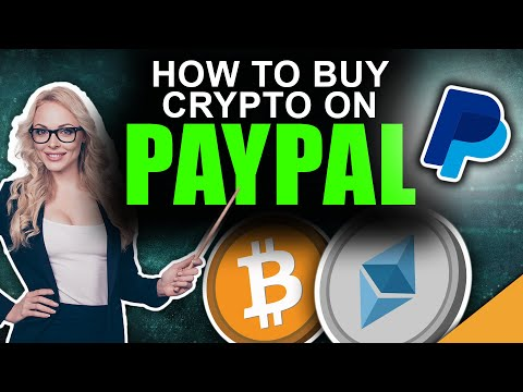 How To Buy Bitcoin \u0026 Cryptocurrency On PayPal (Full Tutorial)