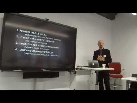 "Antonio Casilli: ""Making sense of digital platform labor"" - PART 2"