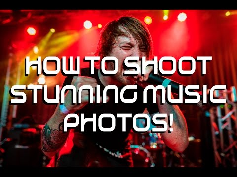 HOW TO SHOOT STUNNING LIVE MUSIC PHOTOS