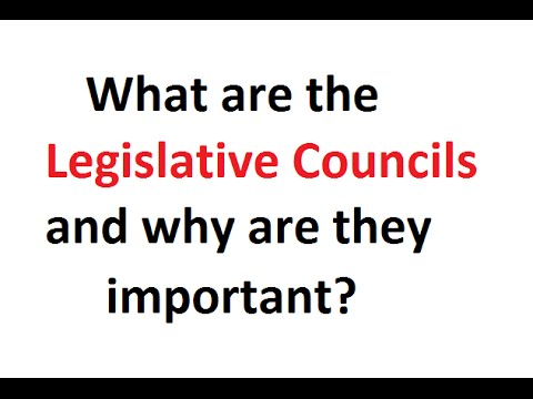 Legislative Council  in States and their Importance (Article 169)