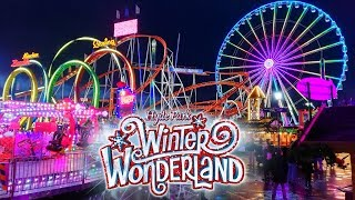 Hyde Park Winter Wonderland Vlog November 2019