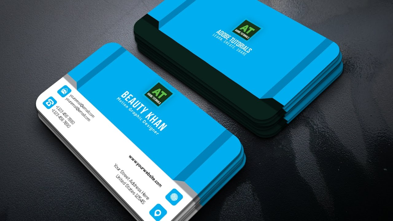 Simple clean business card design in adobe illustrator cc youtube simple clean business card design in adobe illustrator cc magicingreecefo Choice Image