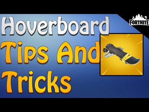 FORTNITE - How To Get The Hoverboard (Hoverboard Tips And Tricks)