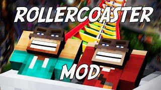 EPIC 3D ROLLERCOASTER MOD - Mod Showcase (w/ SUSHI!!!)