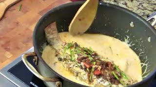 Asian Fusion Curry Fish- Red Snapper