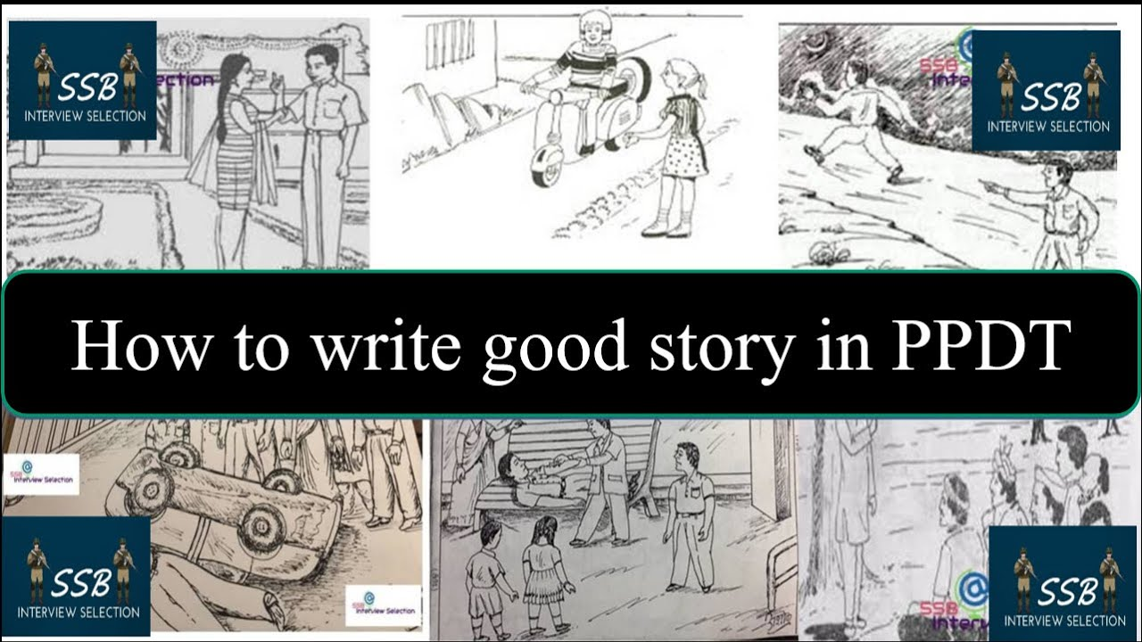 How to write good story in PPDT (Picture Perception & Description Test) || SSB Interview Selection