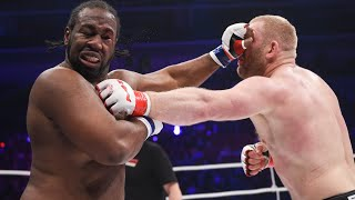 Sergey Kharitonov VS Kenny Garner! Battle of heavyweights - knockout! M-1 Challenge 53