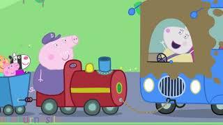 Свинка Пеппа Дедушкин паровозик 2 сезон 29 серия (Peppa Pig Painting)