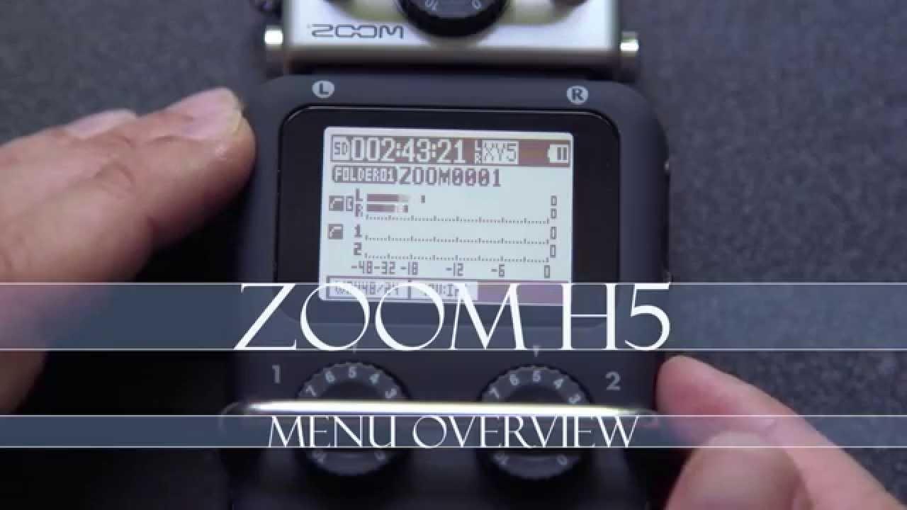 Zoom H5 REVIEW - High Quality Audio Fieldrecorder