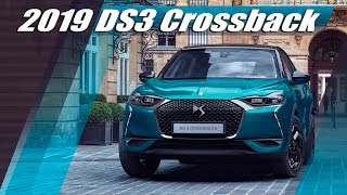 DS3 Crossback 2019 First Official Images