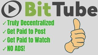 Is Bit.Tube The Best Youtube Alternative In 2018? Make Money Watching Videos For FREE!