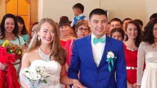 Свадьба Елены и Евгения 27.08.16 г. Междуреченск