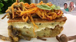 Пирог с картошкой и брынзой! Пирог на любой случай!