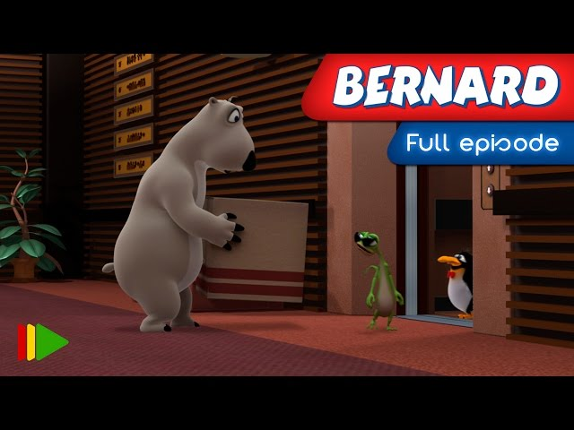 Bernard Bear - 68 - The elevator