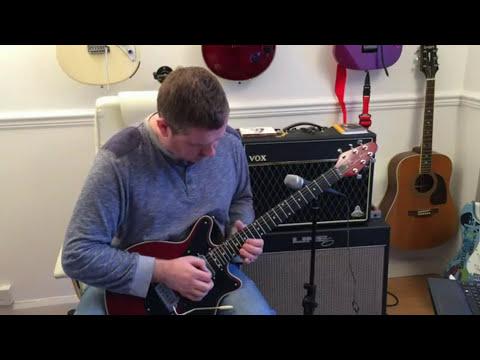 Queen - Bohemian Rhapsody - Guitar Solo Tutorial (Guitar Tab)