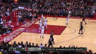 4th Quarter, One Box Video: Houston Rockets vs. San Antonio Spurs