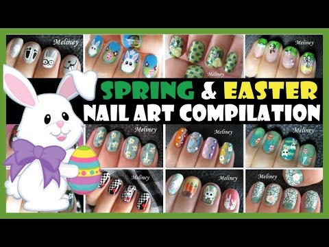 Spring easter nail art compilation meliney how to tutorial spring easter nail art compilation meliney how to tutorial designs prinsesfo Gallery
