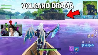 VOLCANO LOOT LAKE IS A LIE 👻 | Fortnite Battle Royale Gameplay
