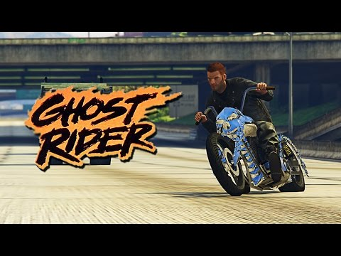 VOZIO SAM AUTO BEZ TOCKOVA ! Grand Theft Auto V - Ghost Rider Mod