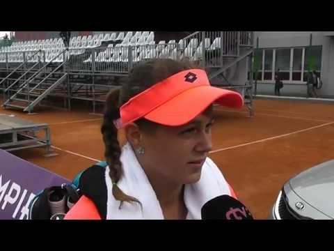EMPIRE Slovak Open 2015: 1R, Tereza Smitkova - Jana Cepelova 6-2, 6-3