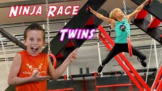 Payton Vs Paxton Twin Ninja Race!