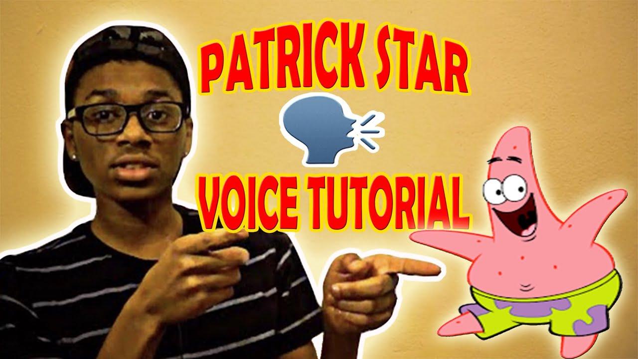 How To Talk Like Patrick Star (Tutorial)
