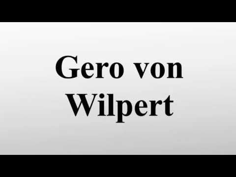 Gero von Wilpert