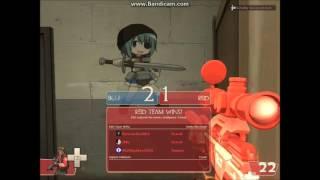 Team Fortress 2 (PC) - Warehouse Goal2 online match (PASS Time mode)