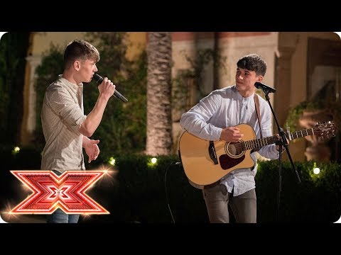 Sean & Conor Price take on Pink's What About Us | Judges' Houses | The X Factor 2017