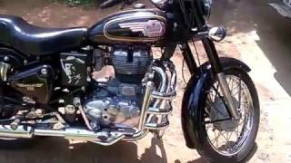 Gambar cover ROYAL ENFIELD STANDARD 350 UCE WITH MANUEL DECOMPRESSOR (PART2 COLD START USING A FINGER)