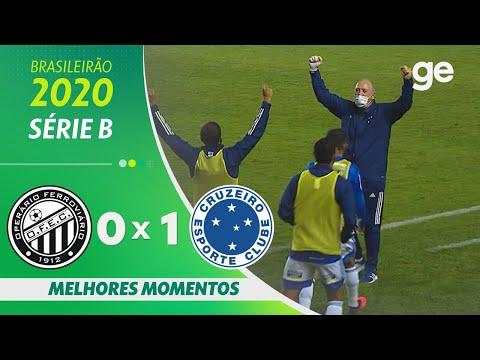 Operario Cruzeiro Goals And Highlights