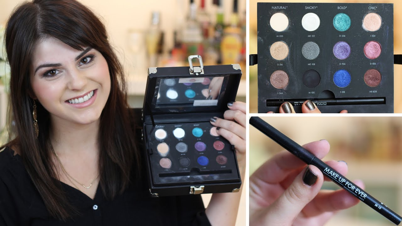 Make Up For Ever Studio Case Holiday Review Swatches You