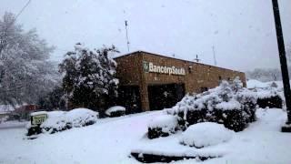 Hope Arkansas Snow Storm 2015 - Drive