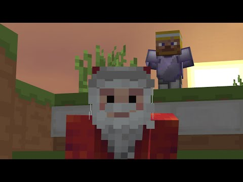 Trapping As Santa In Hypixel Uhc