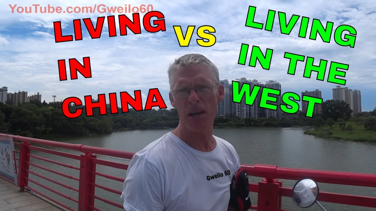 LIVING in CHINA vs LIVING in the WEST!
