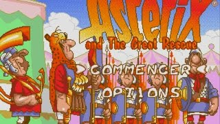 Astérix and the great rescue, Megadrive