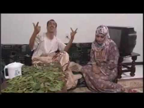 Series Yemen with his wife and magnificence of khat