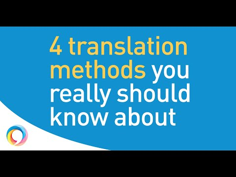 Why choosing the right type of translation for your project matters